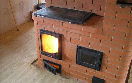Печь в дачный домик