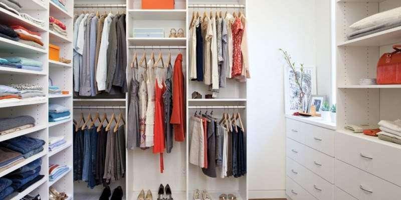 компактные гардеробные