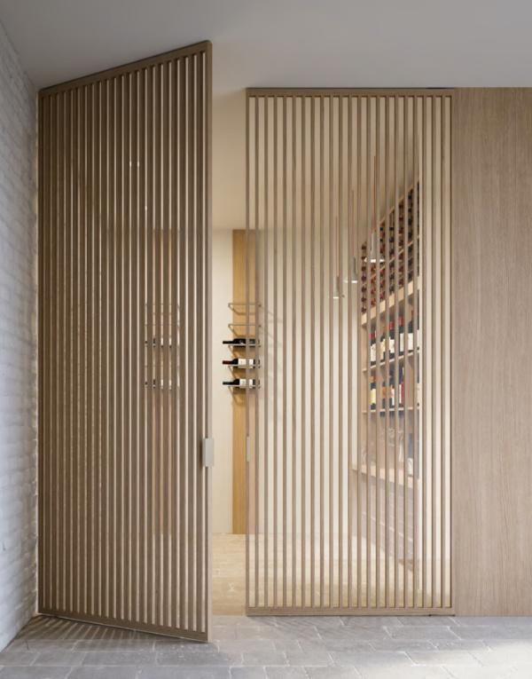 Как выбрать маятниковые двери на кухню?